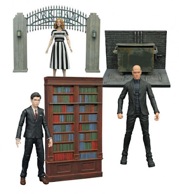 Gotham TV Series Select Action Figures Wave 3 by Diamond Select Toys – Bruce Wayne, Mr. Zsasz & Barbara Kean