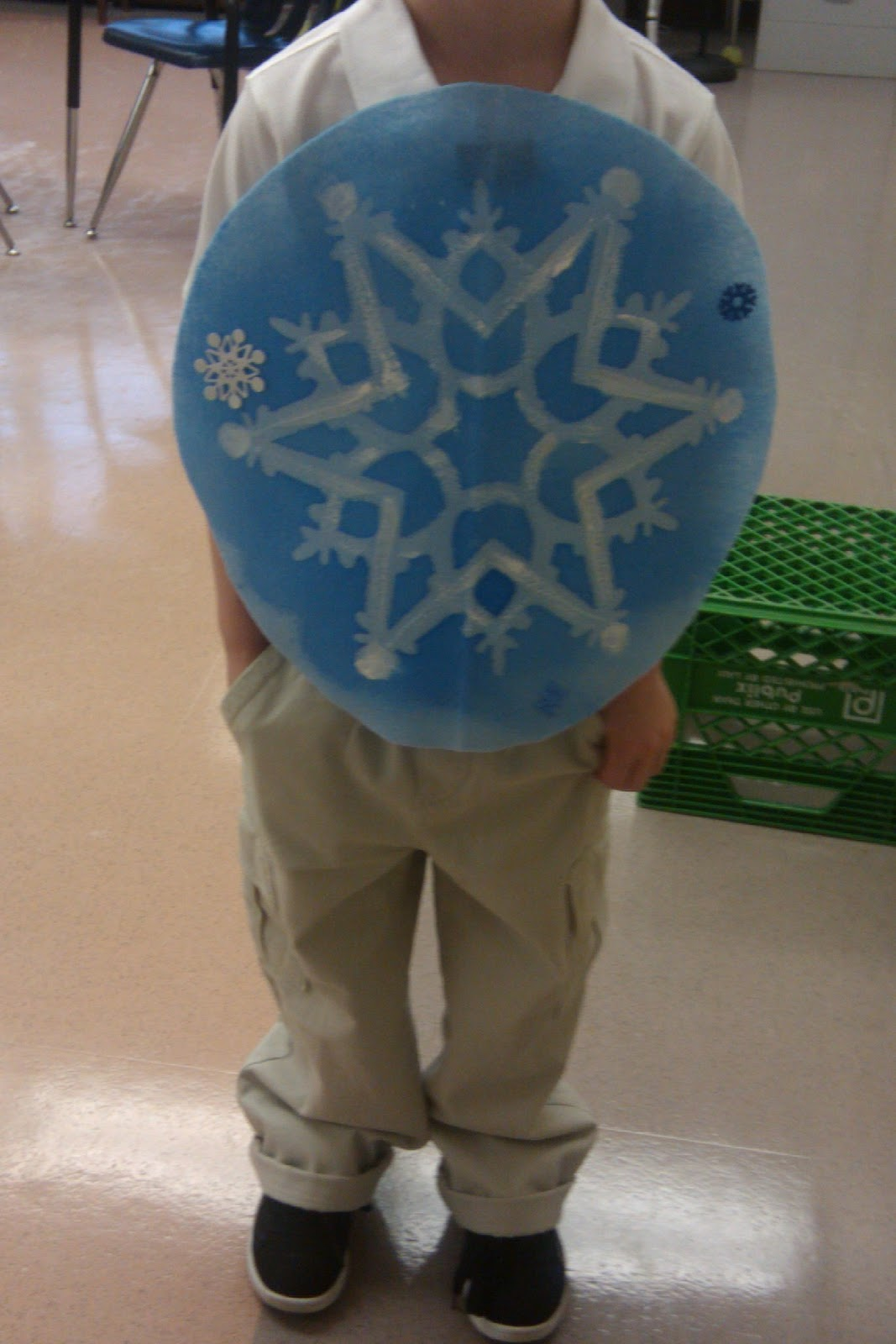 How to make a snowflake costume for adults