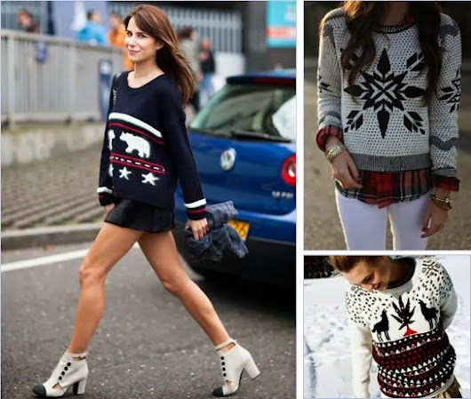 9 Not-So-Ugly Sweaters For Your Ugly Sweater Holiday Party