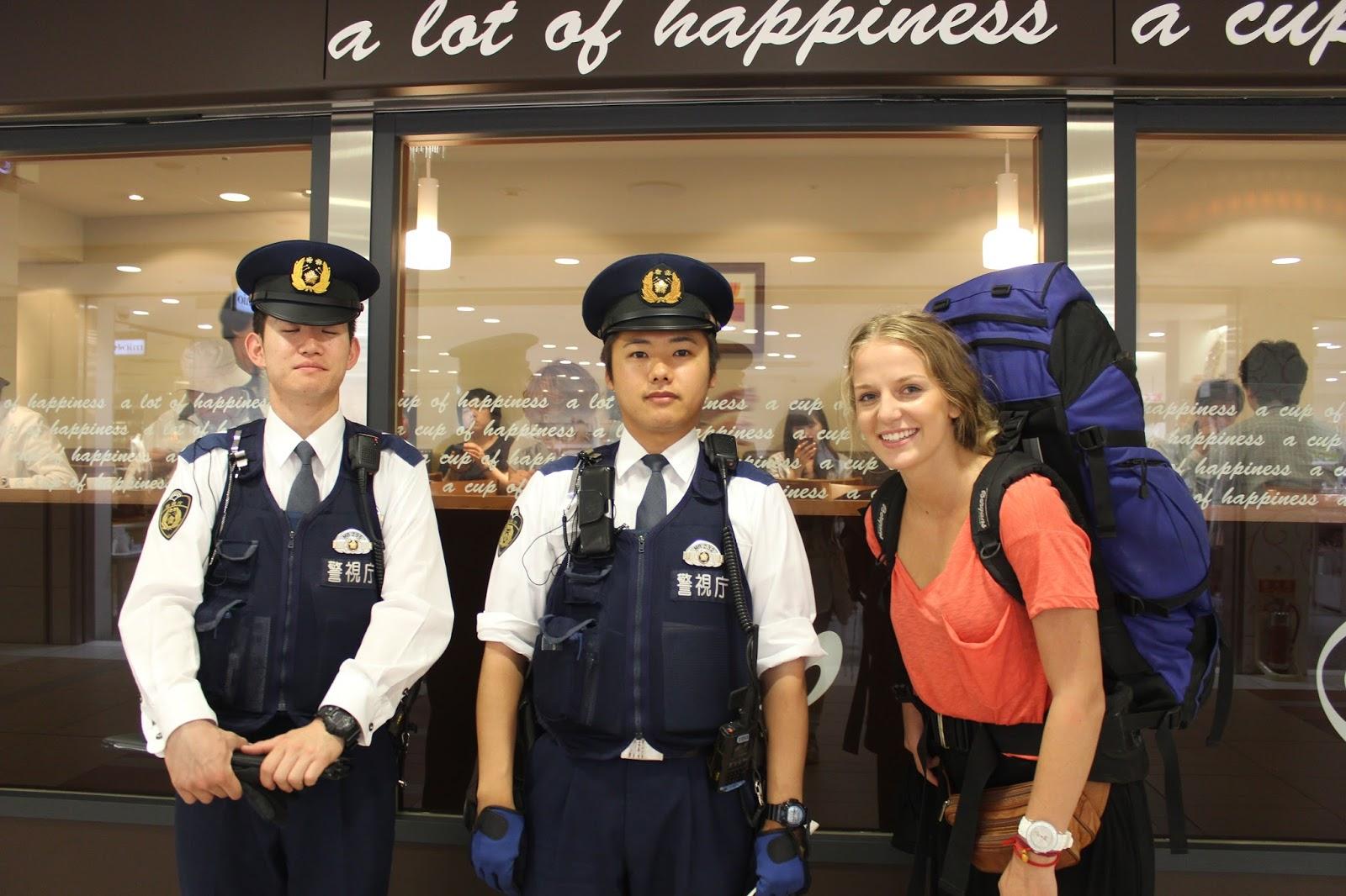 Japan Polizei