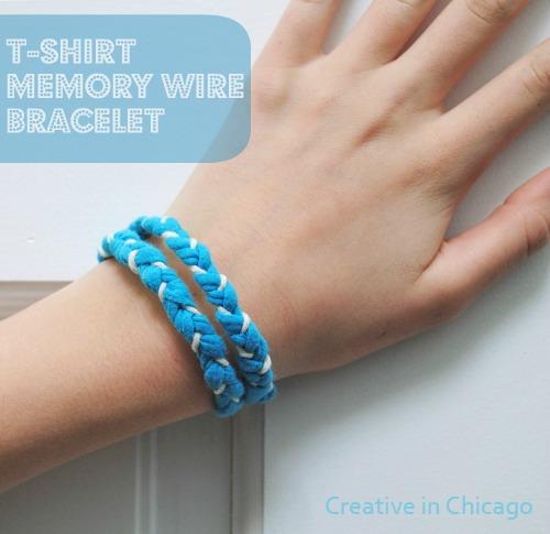 t shirt bracelet
