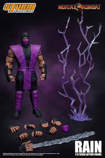 Rain y Smoke 1/12 Scale Action Figure de Mortal Kombat - Storm Collectibles