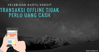 Gambar 2 kelebihan kartu Kredit dan ilustrasi transaksi online