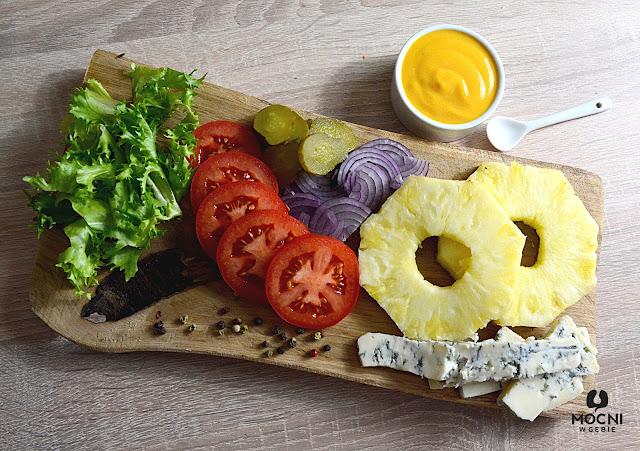 zdjęcie: składniki do burgera