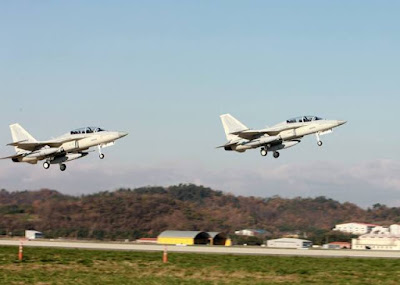 FA 50 Fighter trainer jets