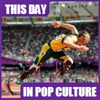 Oscar Pistorius was the first amputee to compete in the Olympic Games
