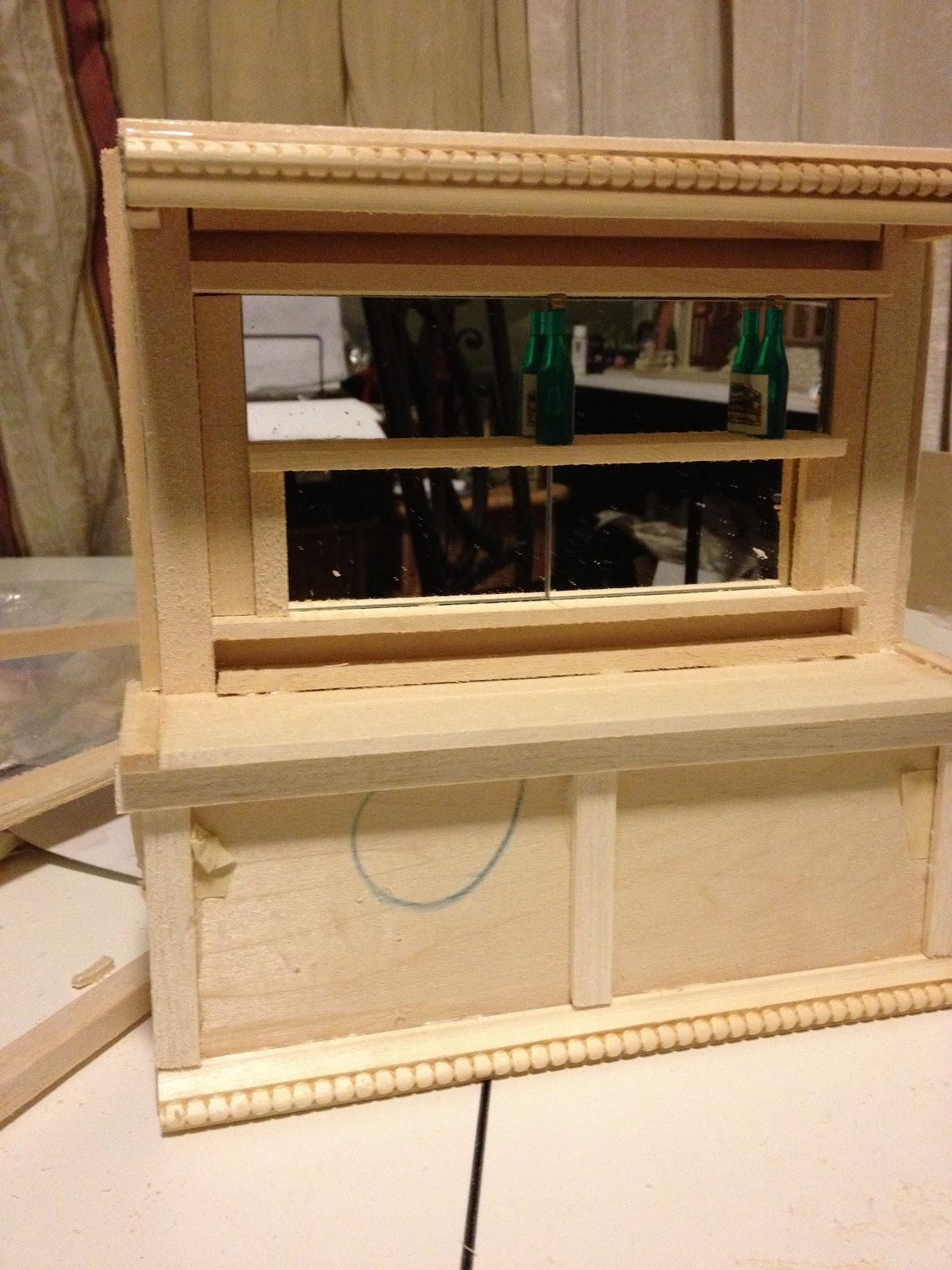 Jocelyn S Mountfield Dollhouse Scratch Built Dollhouse