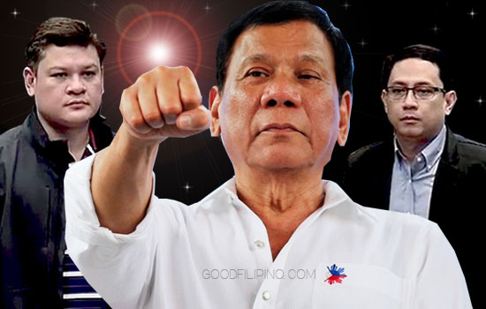 Pres. Duterte to let independent agencies probe son Paolo, Mans Carpio