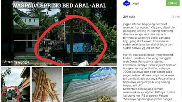 Beli Spring Bed Rp 700 Ribu Lelaki Ini Kaget Saat Mau Tidur, Isi Kasurnya Mengejutkan