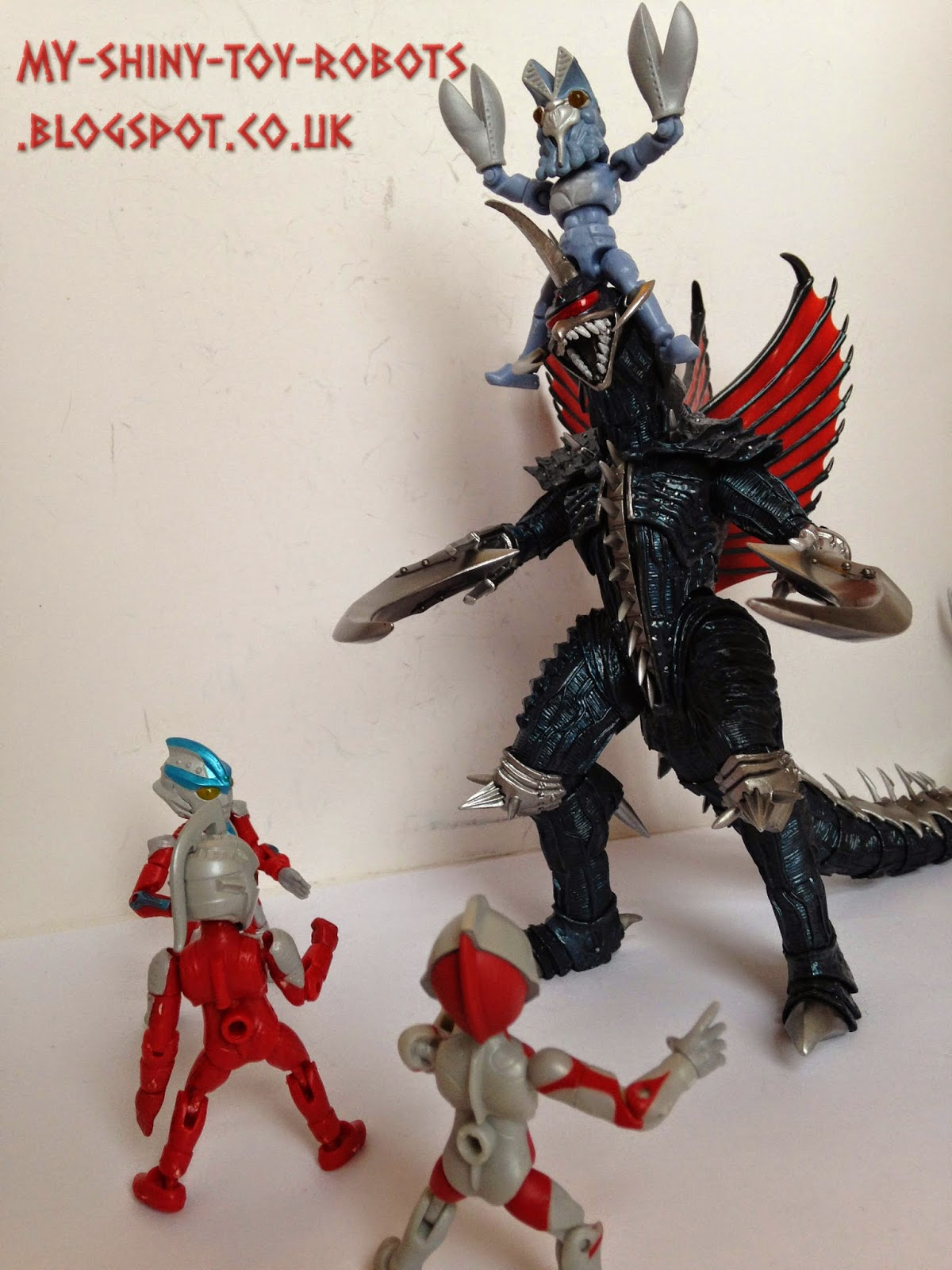Teaming up with Gigan