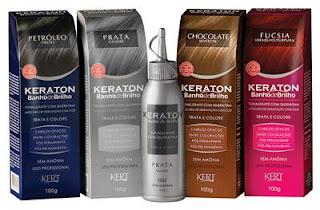 Desamarelar cabelos loiros - banho de brilho Keraton
