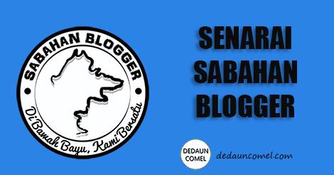 senarai,blogwalking, sabahan blogger