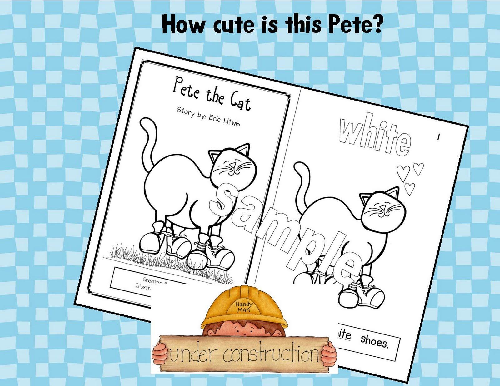 Kindergarten Crayons Pete The Cat Is Back