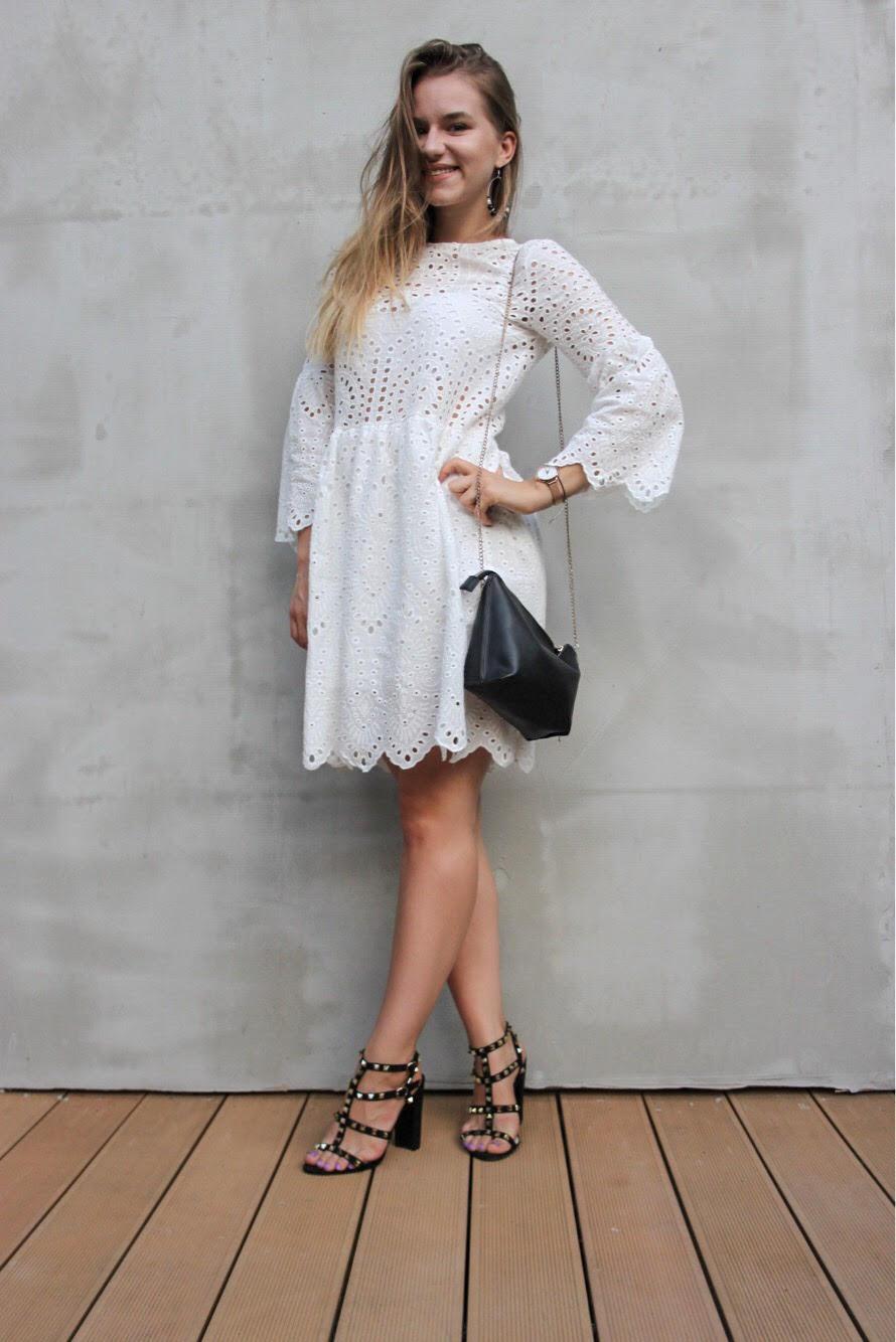The perfect white dress   STYLIZACJA
