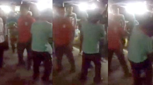 Raba isteri orang, Bangla dipukul