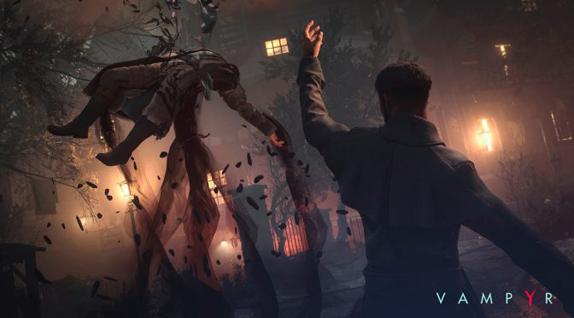 Vampyr Oynanış Videosu