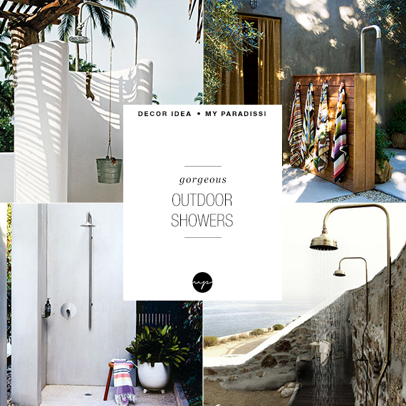 22 of the prettiest outdoor showers | My Paradissi