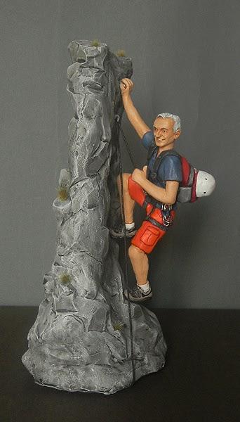 statuine personalizzate sportivi sport alpinismo idee regalo marito orme magiche