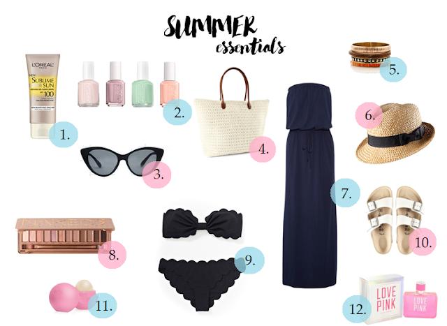 My summer essentials