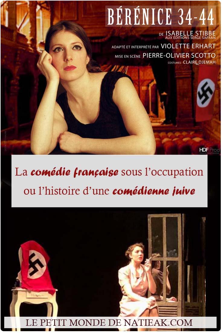 avis sur la pièce de théâtre Bérénice 34-44