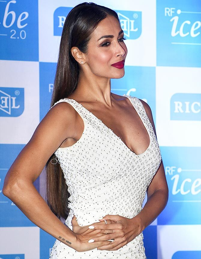 Malaika Arora Khan at Richfeel's beauty product launch