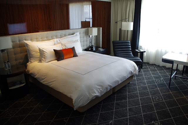 bed at swissotel Sydney