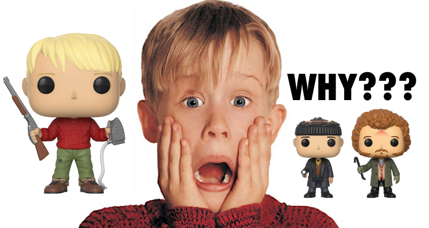 HOME ALONE Pop!Vinyls from Funko for November Release!