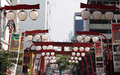 Lanternas do bairro da liberdade - São Paulo