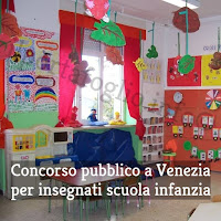 concorso pubblico per insegnanti scuola dell'infanzia a venezia