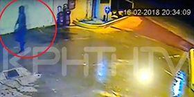 ΒΙΝΤΕΟ ντοκουμέντο - Βενζινοπώλης στην Κρήτη είχε Άγιο - Τον πυροβόλησε ληστής ενώ του είχε δώσει τις εισπράξεις