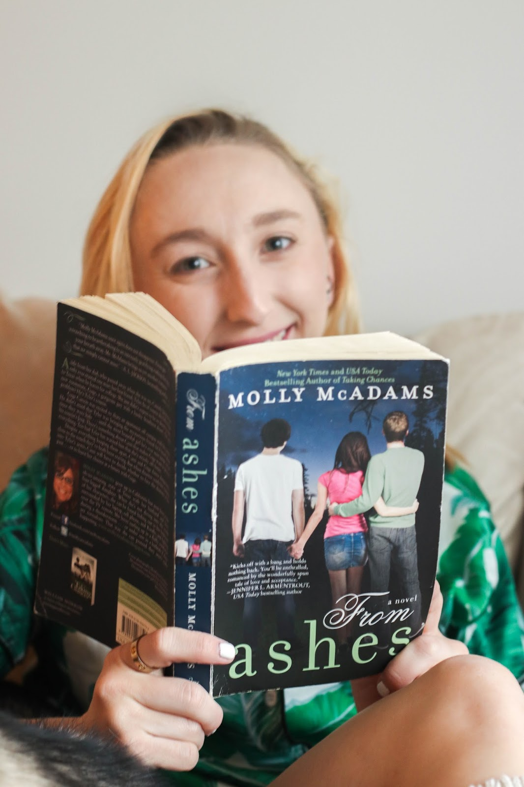 Currently Reading: 'From Ashes' by Molly McAdams