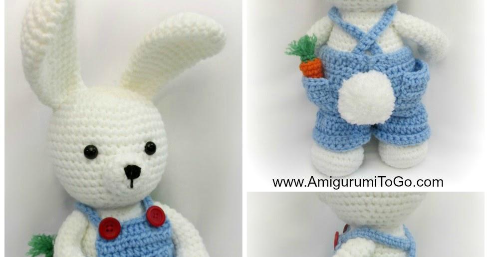 Amigurumi Freely Fb : Overalls for dress me bunny boy clothes ~ amigurumi to go