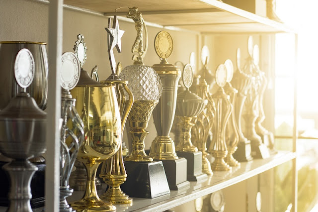 Trophies and engraving