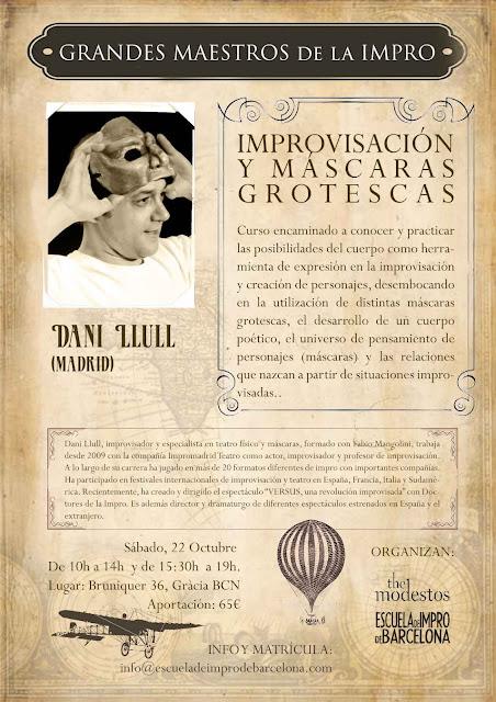 Grandes maestros Dani Llul