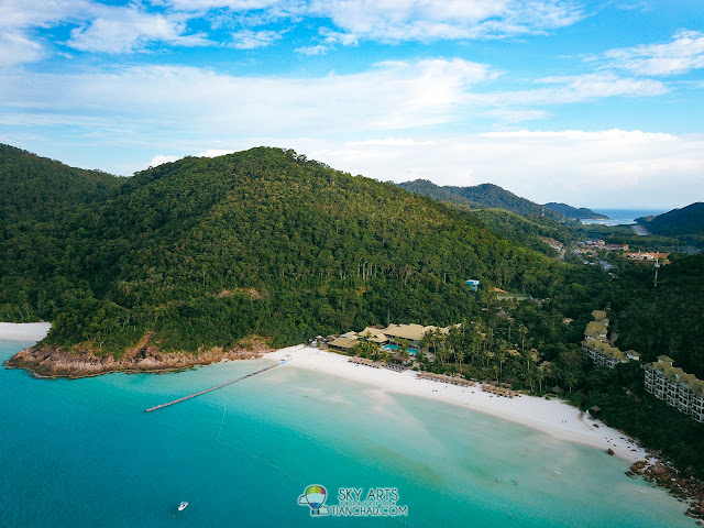 Taaras-Redang-Beach-Spa-Resort-Pulau-Redang-Aerial-View
