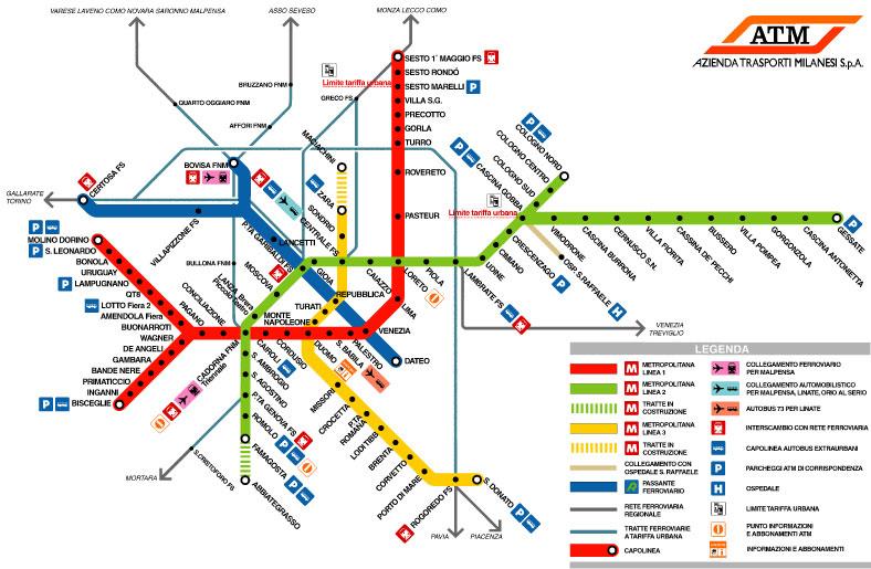 Metro Map Pictures Milan Metro Map Pictures
