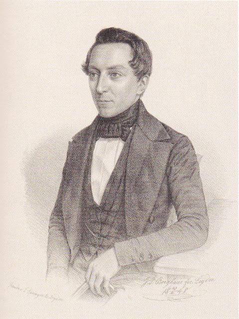 Benjamin Frederik Matthes saat muda