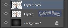 Duplikat layer efek api
