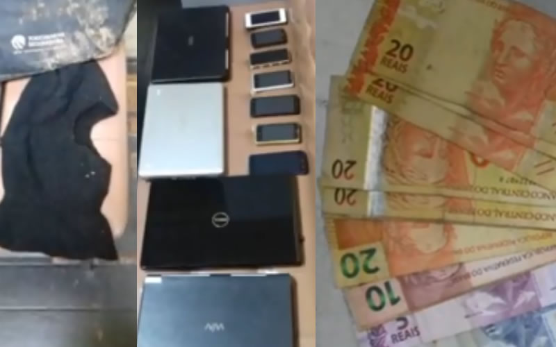 Suspeitos são presos em flagrante após roubo na Cooperativa de Pinhal