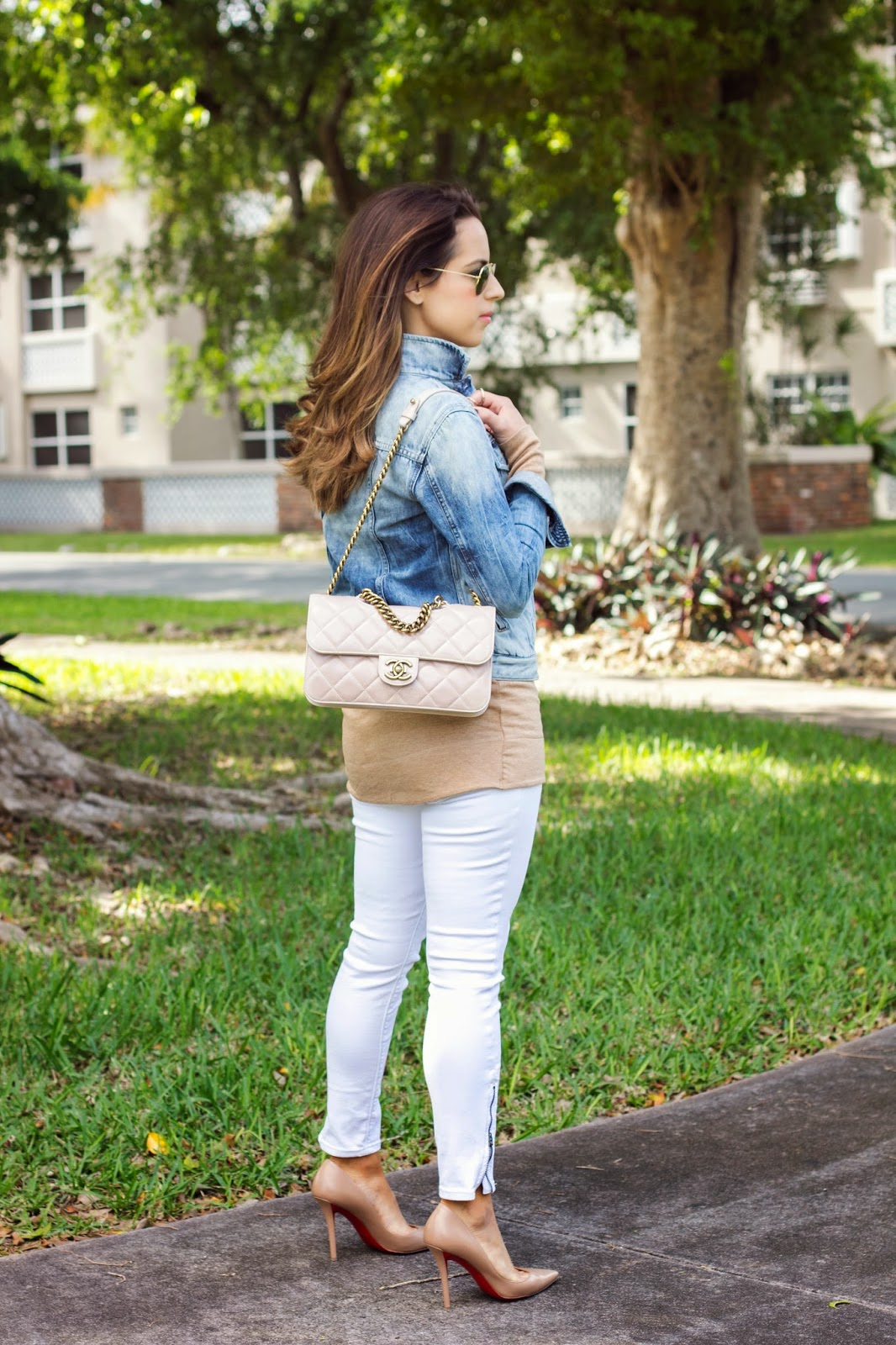 Miami Winter White Jeans Kelly Saks