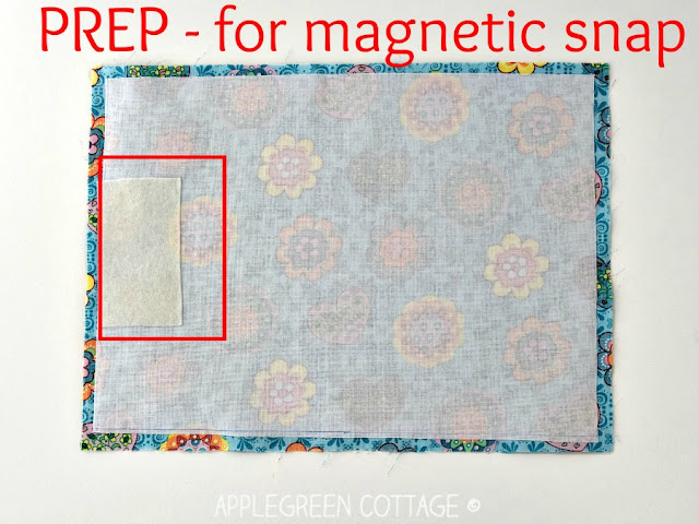 How to add magnetic snaps