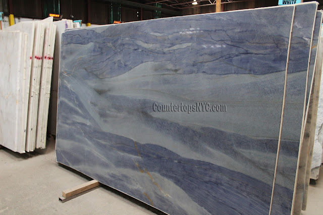 Azul Macaubas Quartzite For Kitchen Countertops NYC