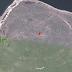 Pentagrama no Google Earth