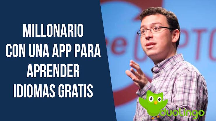 La historia de Luis Von Ahn, el creador de Duolingo