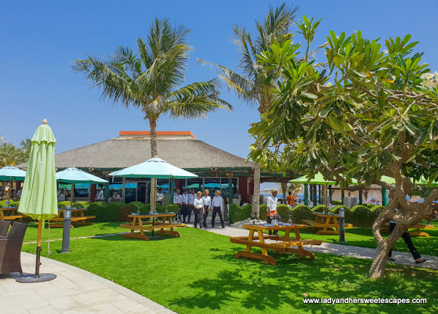 fujairah rotana resort garden