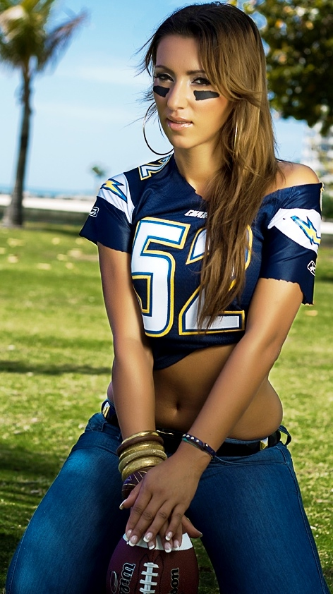 Beauty Babes 2013 San Diego Chargers NFL Season Sexy Babe