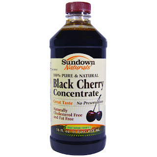 شراب الكرز الأسود   Rexall Sundown Naturals, Black Cherry Concentrate, 16 fl oz