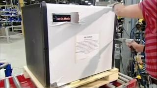 собранный льдогенератор