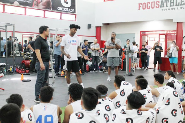 Gatorade Fuels Jr. NBA Philippines 2017 National Training Camp