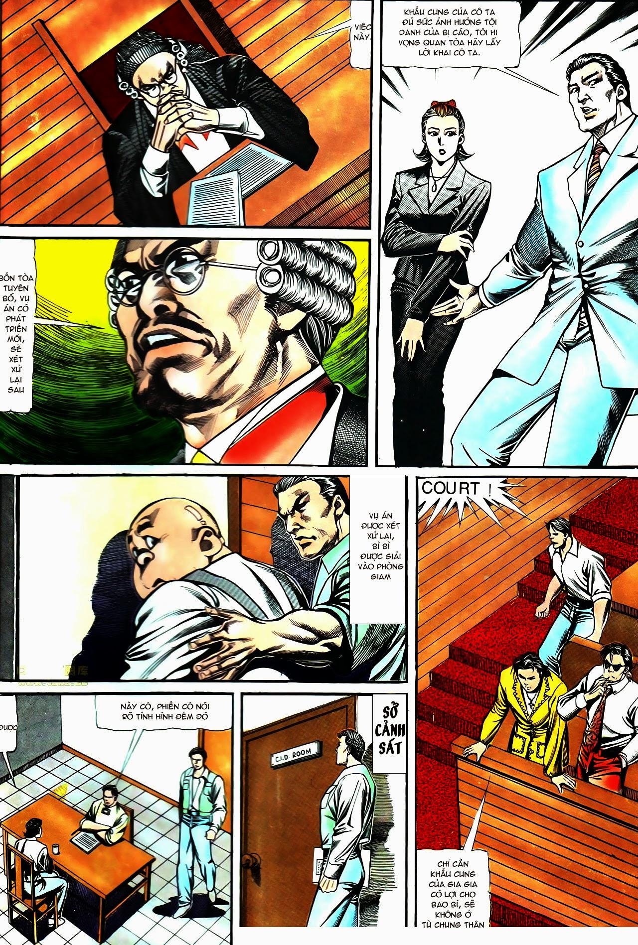 Người Trong Giang Hồ chapter 119: tù chung thân trang 20